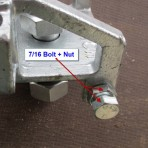 Bolt 7/16 suit Receiver
